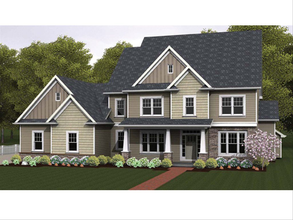 Colonial Style House Plan 4 Beds 2 5 Baths 3159 Sq Ft Plan 1010 65 In 2020 Colonial House Plans House Plans Traditional House Plans