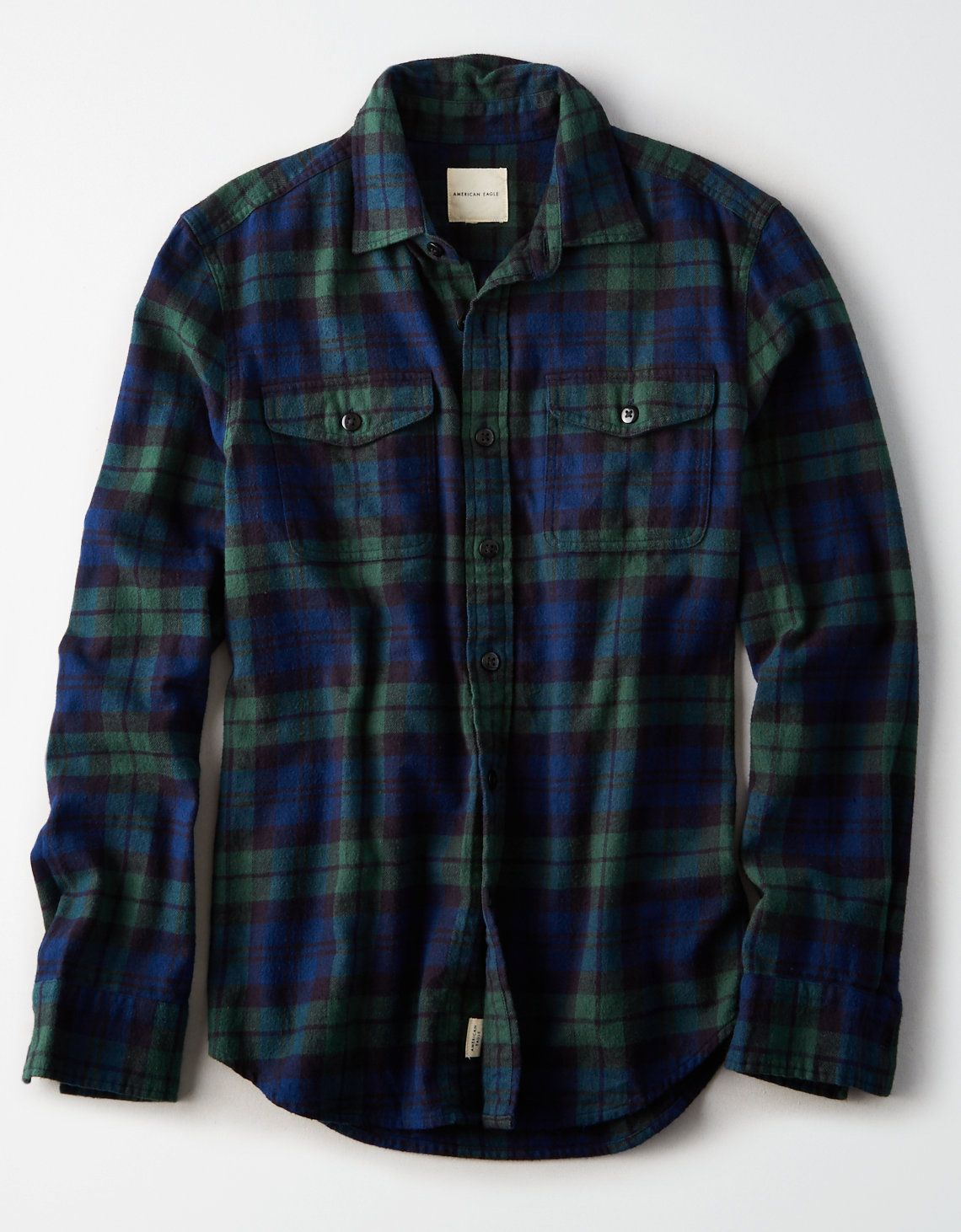 f52d1805f AE Flannel Buttondown Shirt in 2019 | Shopping | Flannel outfits ...