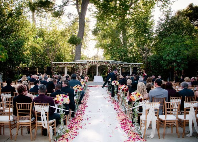 Calamigos At The Los Angeles Equestrian Center Weddings With A View Wedding Venues Locations Ceremony Outdoor Officiant Large