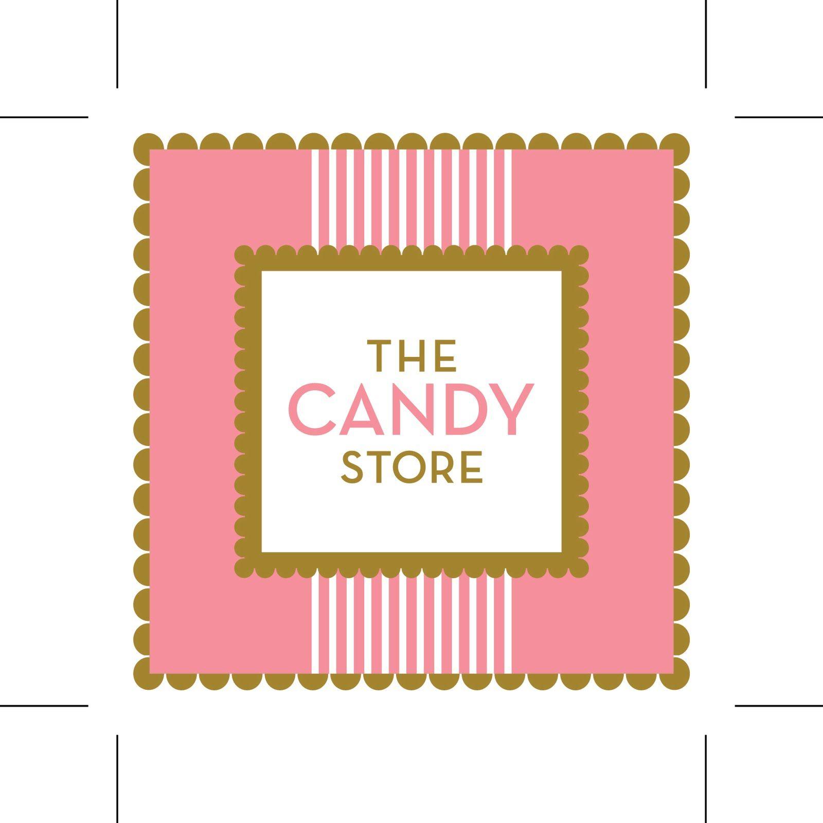 vintage candy shop logo the candy store miniature shop