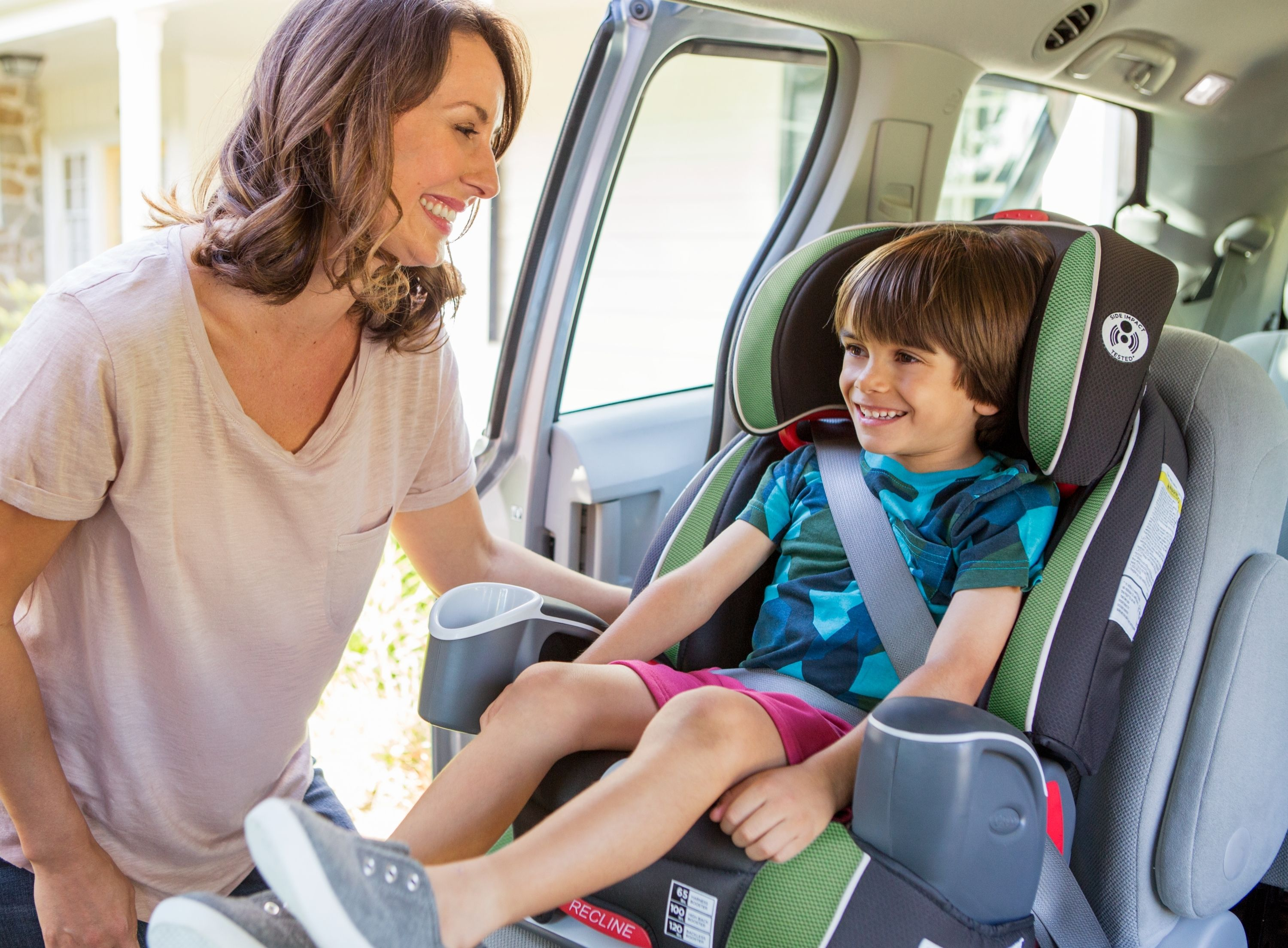 Graco's Argos 65™ 3in1 Car Seat in Jade featuring the