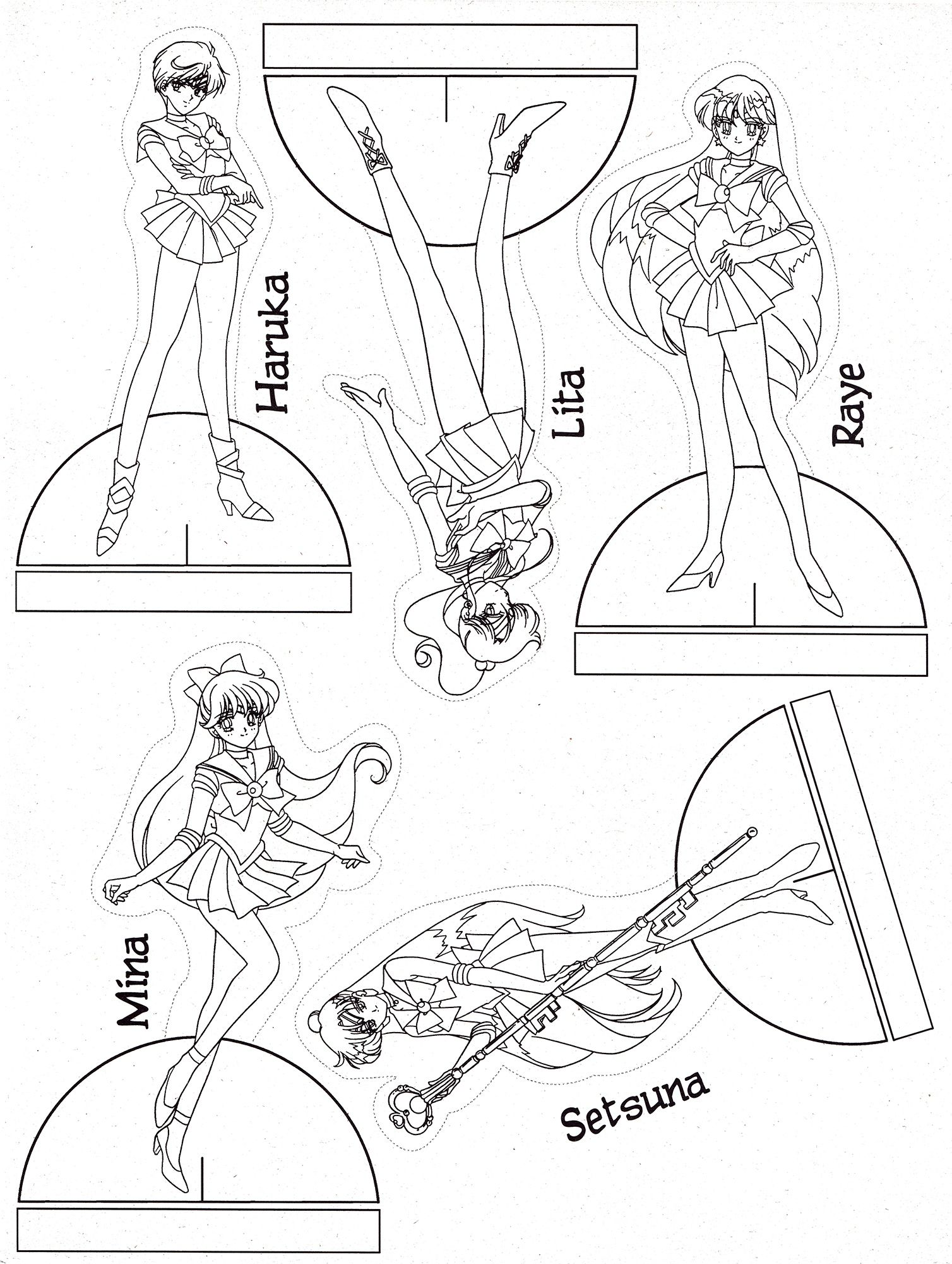 Пин от пользователя Марина на доске Sailor Moon расскраска ...