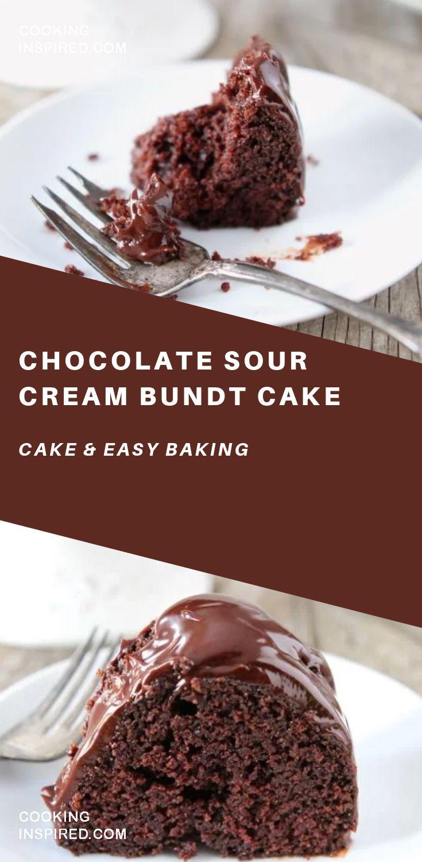 Chocolate Sour Cream Bundt Cake Recipe Amazing Chocolate Cake Recipe Healthy Cake Recipes Chocolate Cake Recipe