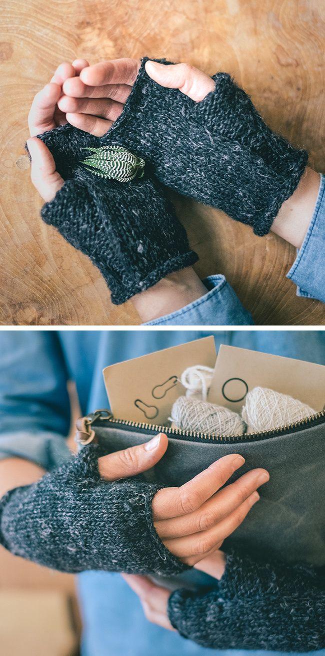 Wabi Mitts free knitting pattern | Knit/Crochet - Hats, Headbands ...