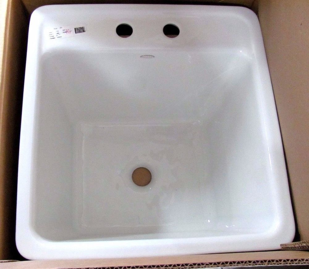 Kohler Park Falls Crest Cast Iron Sink With Images Sink