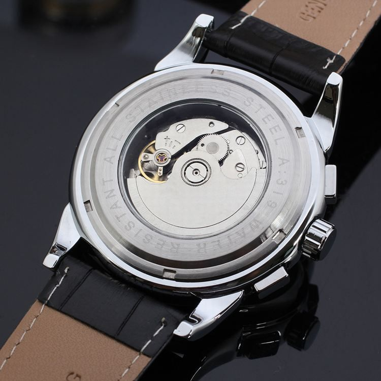 watches men luxury brand automaticforsining luxury moon phase watches men luxury brand automaticforsining luxury moon phase leather automatic watch brands for men forsining