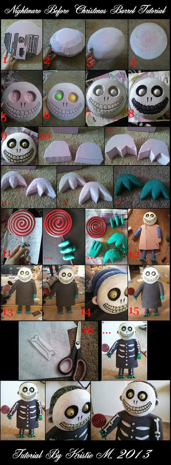 heck yes i will so do DIY Nightmare Before Christmas Halloween Props ...