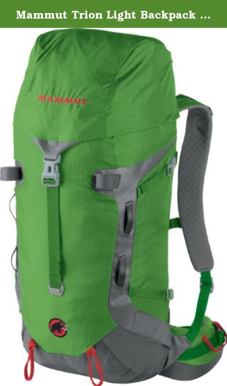 Mammut Trion Light Backpack - 40L Dark Spring/Smoke. Ultra-lightweight waterproof mountaineering backpack fully equipped it weighs just 1100 grams ... & Mammut Trion Light Backpack - 40L Dark Spring/Smou2026 | Internal Frame ...