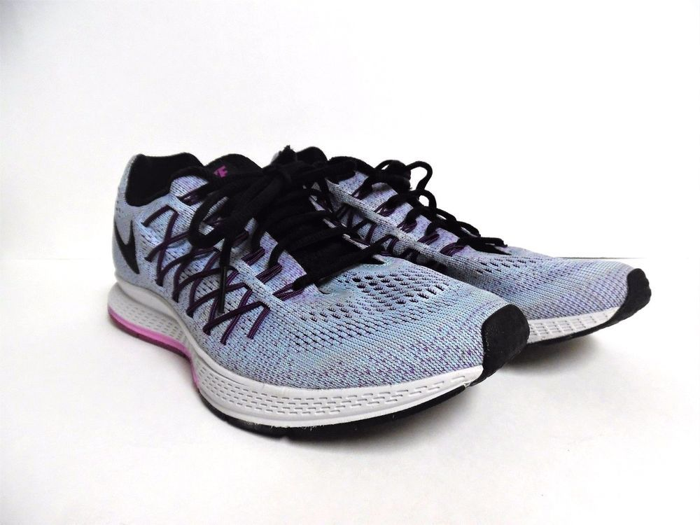 best website 56175 fc28c Nike Air Zoom Pegasus 32 Blue Blk Fuchsia Running Shoes Women s 749344-405