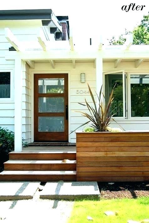Modern Front Porch Railing Ideas Railings Interior Entrance
