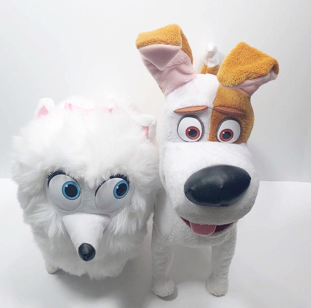 The Secret Life Of Pets Max Talking Walking Dog Toy Gigi