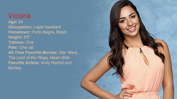 The contestants for the Bachelor season 2014