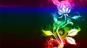 Image Result For Abstract Rainbow Moon Wallpaper
