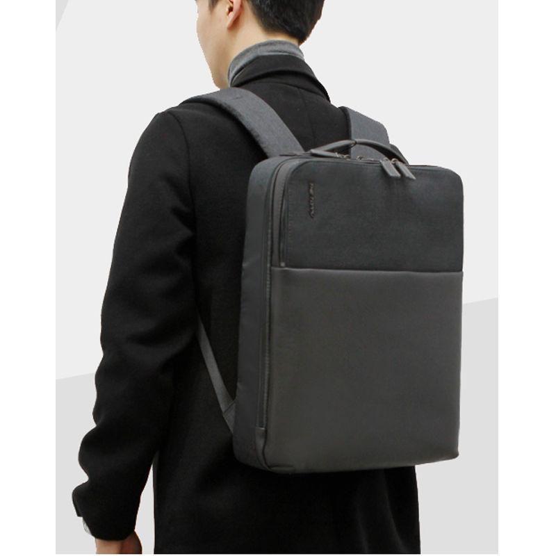 TOPPU Mens Laptop Backpack Business Bag College School Backpack Rucksack 702