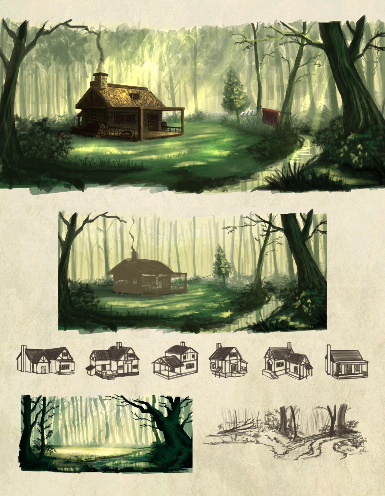 Halt's Cottage Based On Ranger's Apprentice, The Ruins Of Gorlan By John  Flanagan