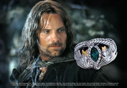 Aragorn - Anillo Barahir - Replica OFICIAL - The Lord of the Rings