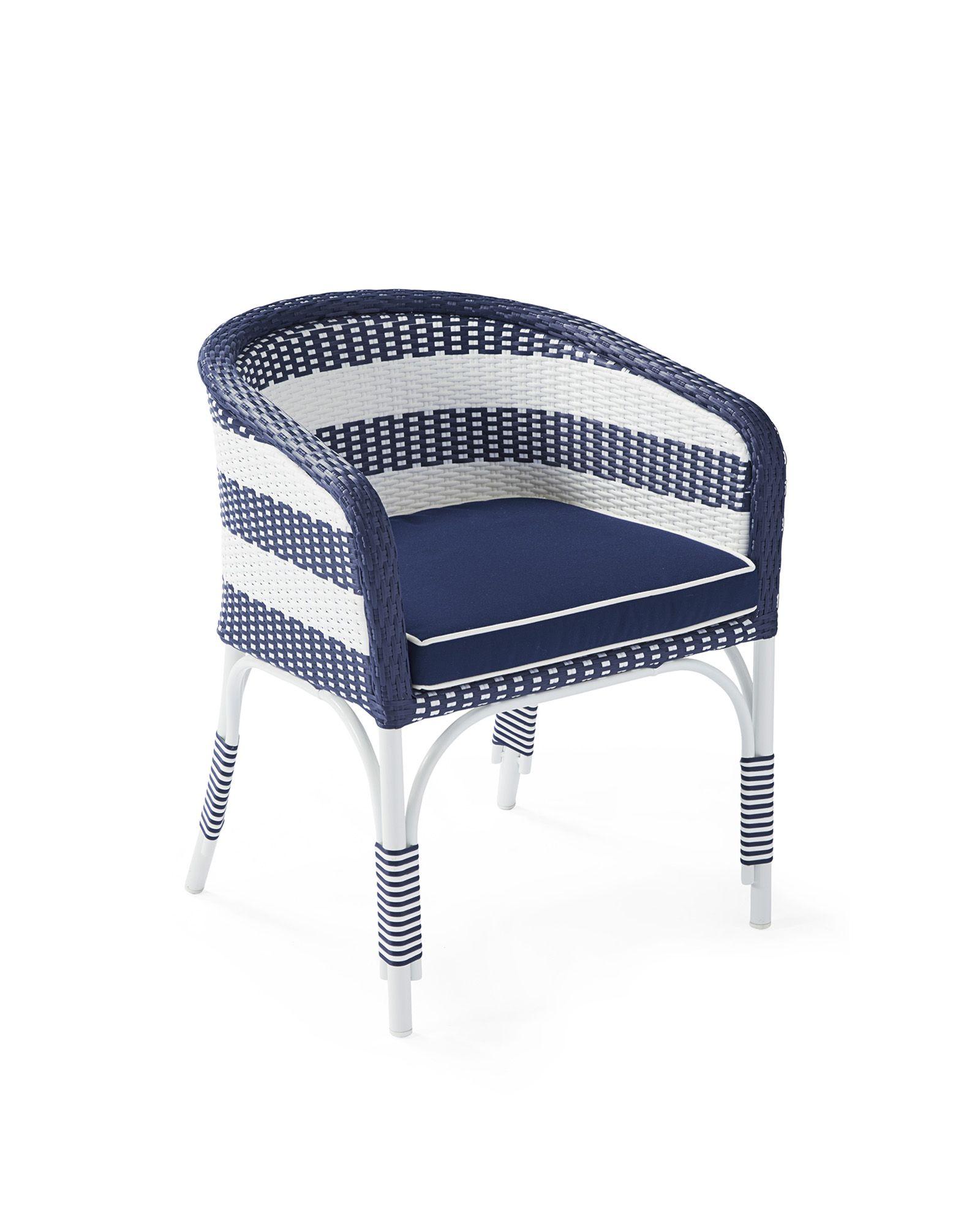 Serena u lily riviera outdoor bucket chair with cushion bucket