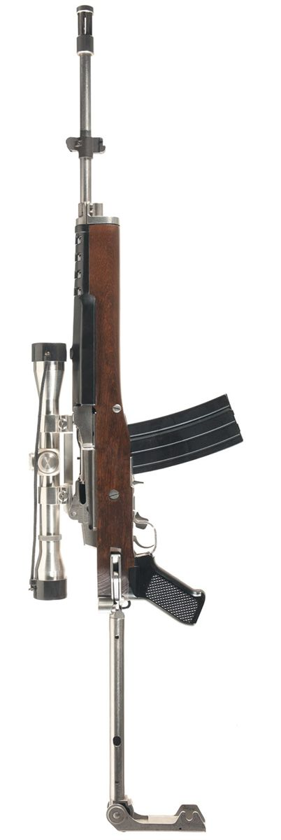 ruger mini 14 gbf rifle with scope interesting and rare guns ii