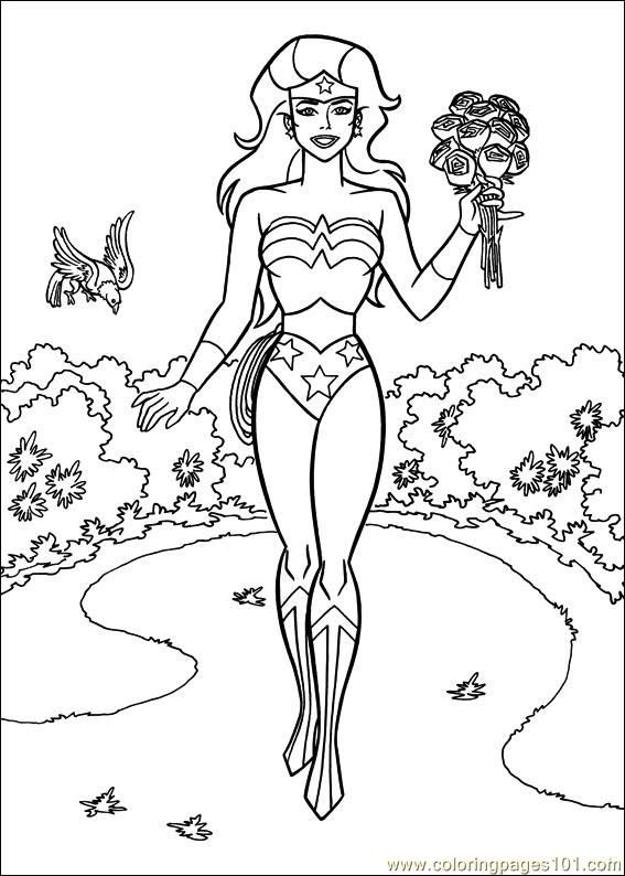 Wonder Woman Coloring Pages - Enjoy Coloring | party ideas ...