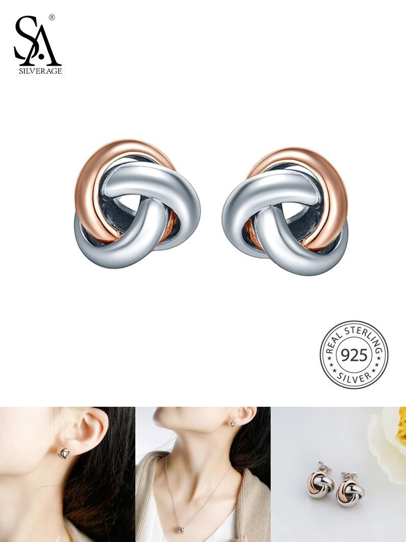 pearl sides from girls double two trendy stud accessories item on for jewelry ball in crystal earrings earring fashion