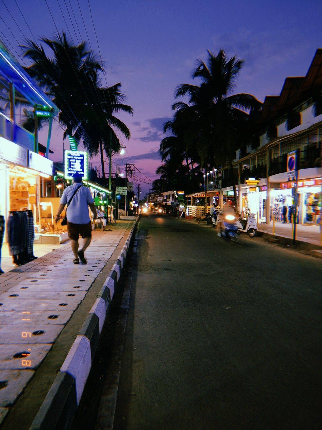 Streets Of Goa Candolim City Aesthetic Goa India India Photography