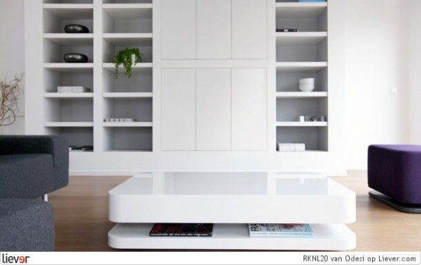 Barmeubel woonkamer bureau met vakken kast kastenwand woonkamer