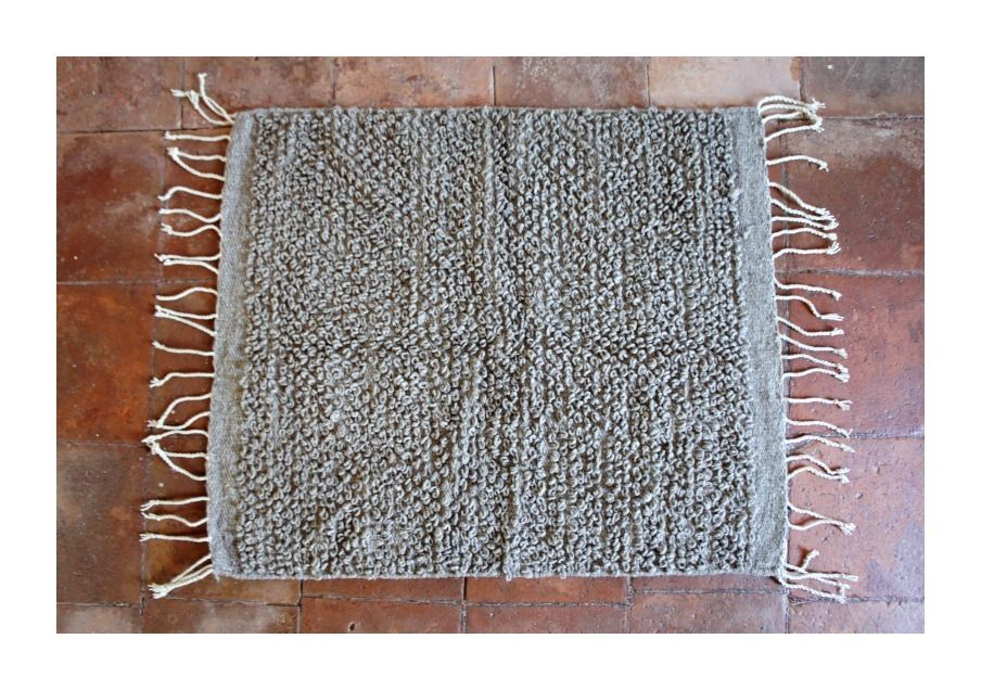 Mexchic Wool Rug Cotorin In Gris Rugs Wool Rug Large