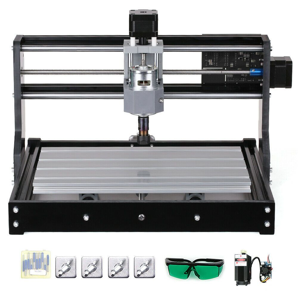 Cnc Kit 3 Axis in 2020 (With images) Diy cnc router