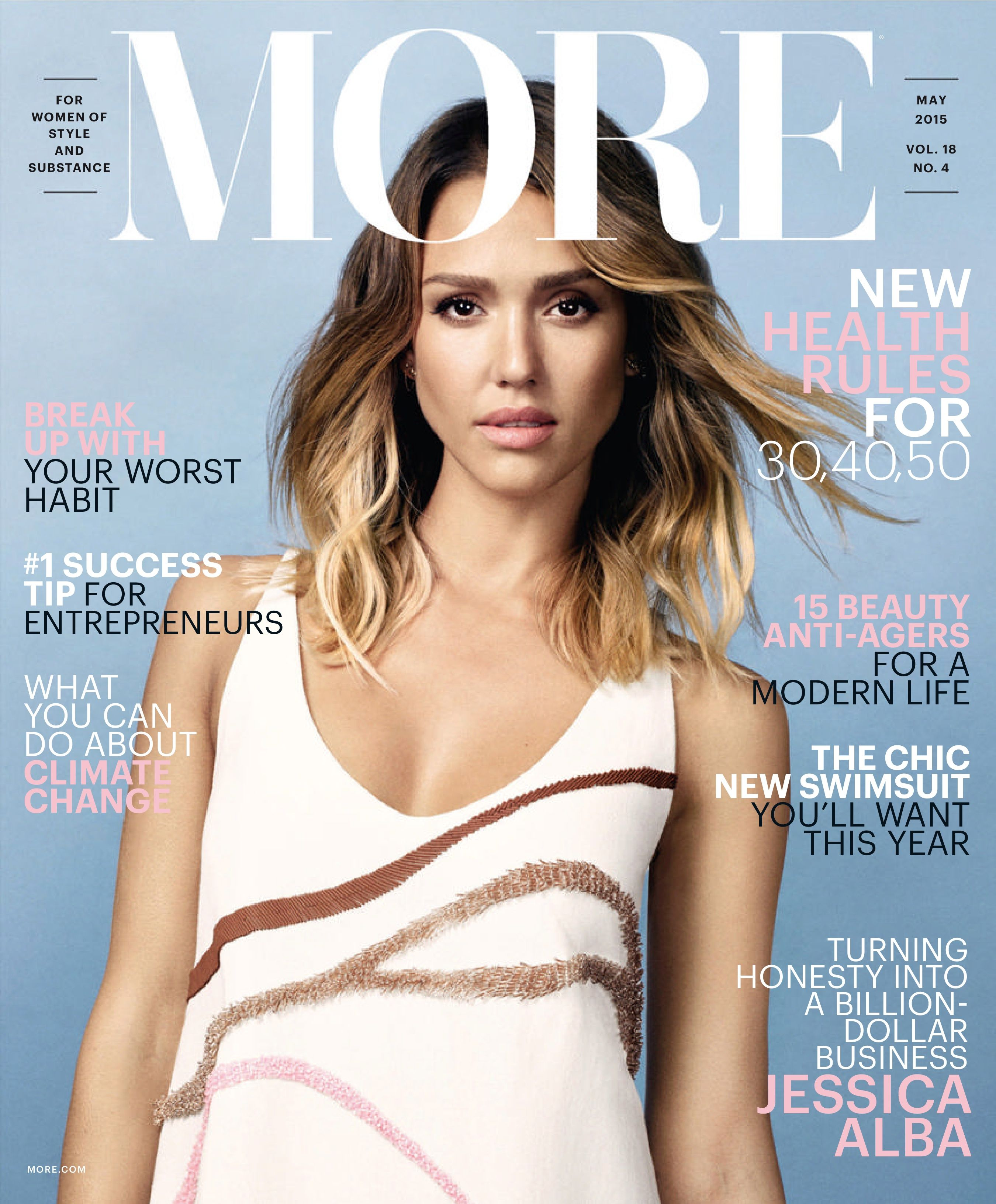 The rules of life for successful moms: Jessica Alba
