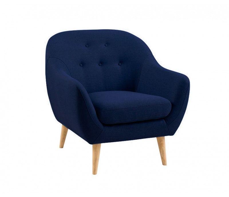 Sill n asgar azul individual dreamy sillones - Sofas individuales modernos ...