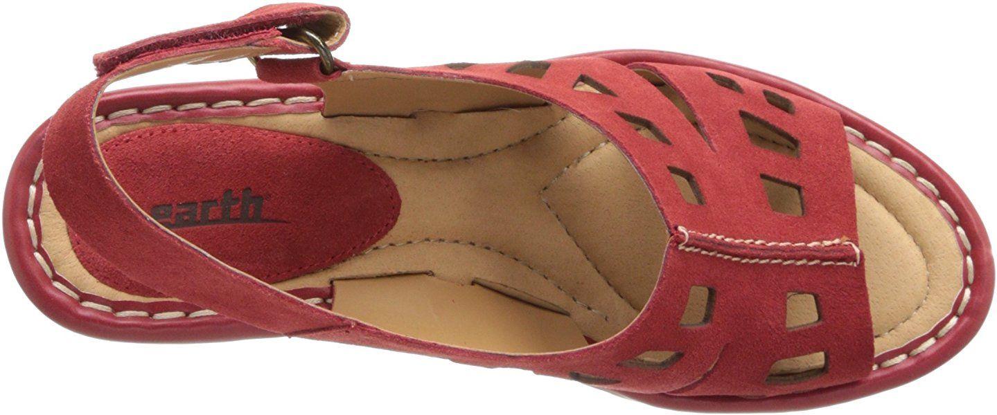Amazon Com Earth Women S Stargaze Wedge Sandal Jazzy