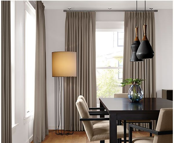 Tailored Pleat Drapery By Room And Board