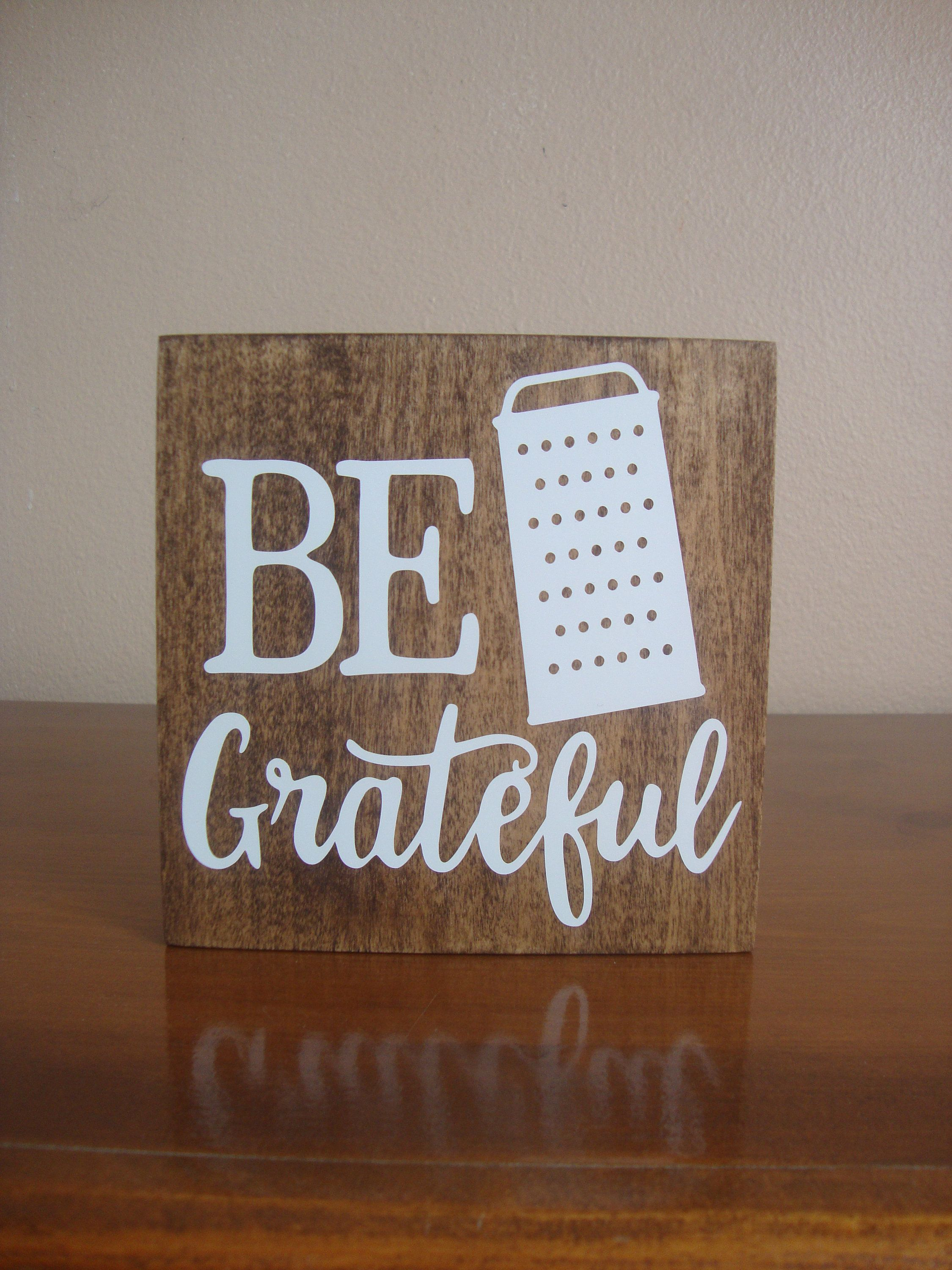 Be grateful kitchen sign kitchen signs farmhouse sign