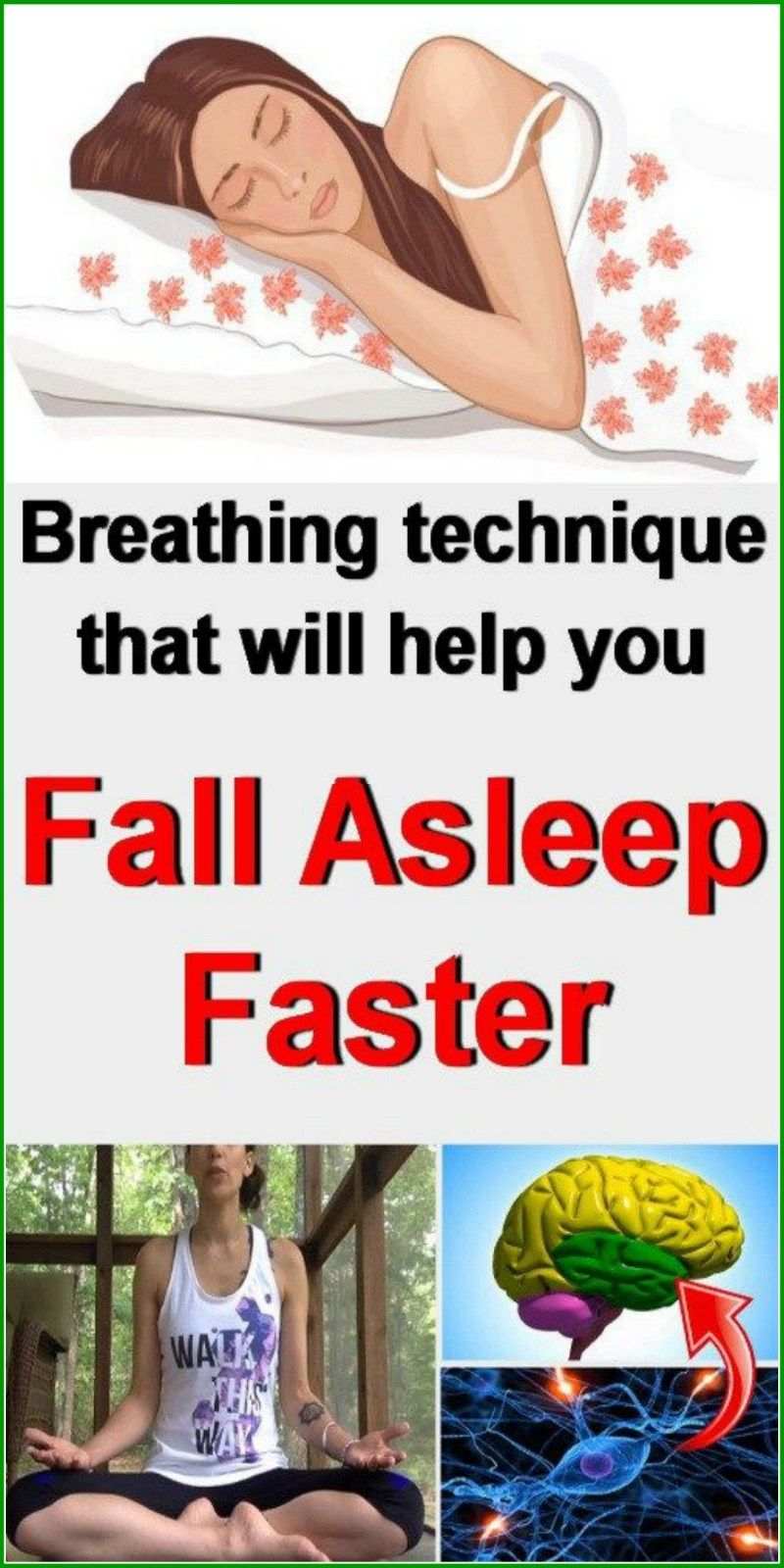 Breathing Technique To Fall Asleep Faster How to fall asleep