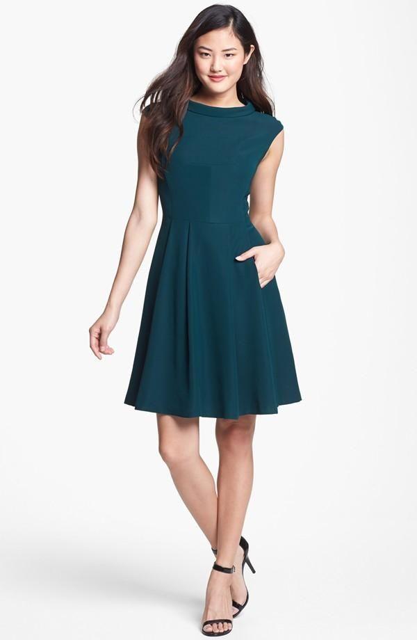 Vince Camuto Fit Amp Flare Dress Nordstrom Dresses Fit