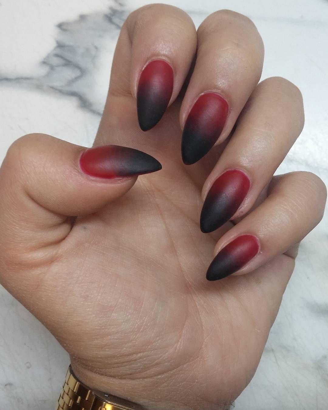 12 Creepy Vampire Nail Art Ideas That Even Dracula Would Love - 12 Creepy Vampire Nail Art Ideas That Even Dracula Would Love