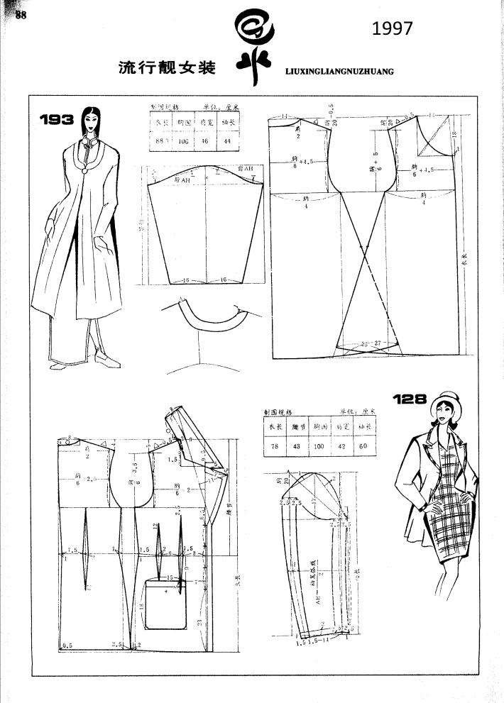 Chinese coat patterns   Kpatronage   Pinterest   Patrones, Molde y ...
