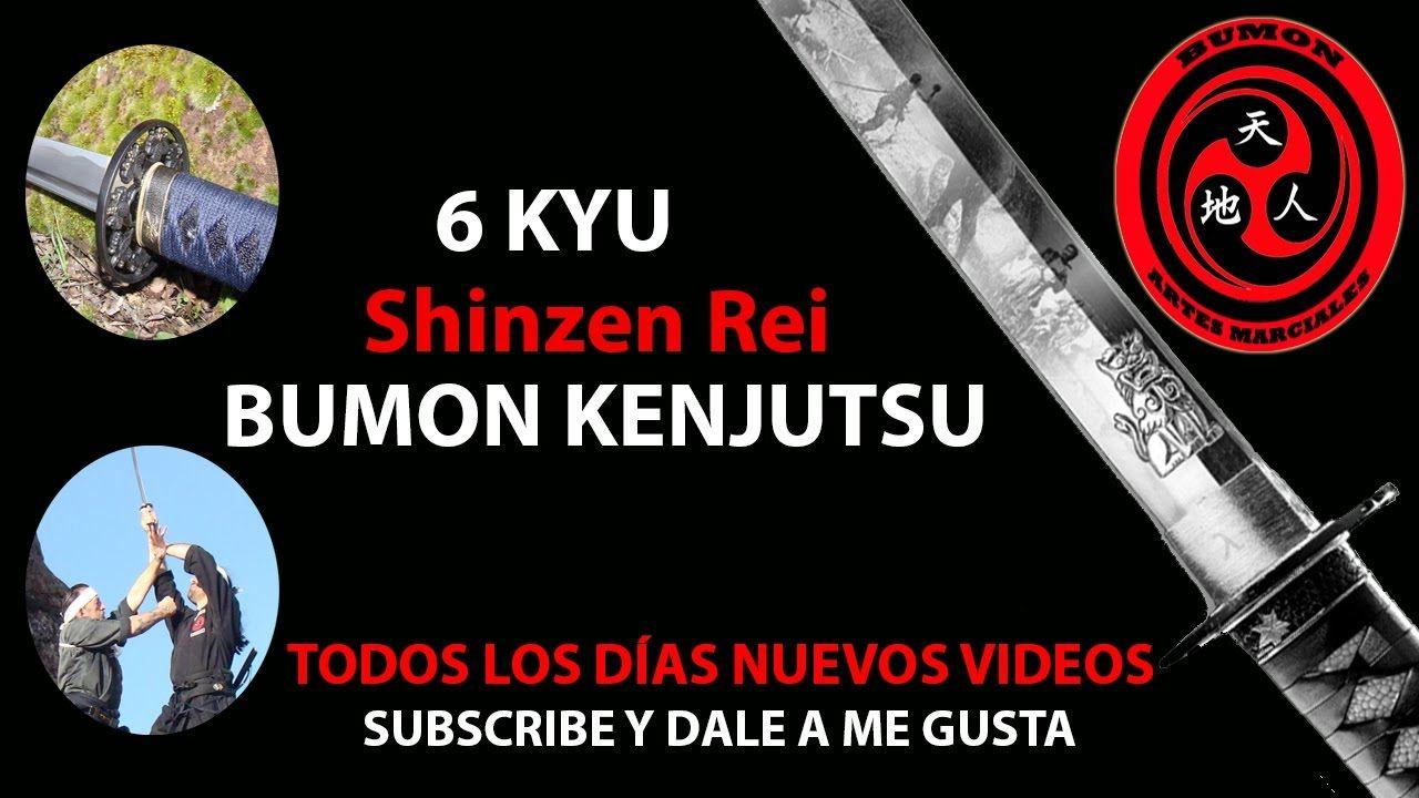 6 kyu kenjutsu shinzen Rei  | iaido | iaijutsu | kenjutsu | battojutsu |...