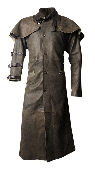 Hellboy Leather Duster Coat - or a good coat for a Weller ...