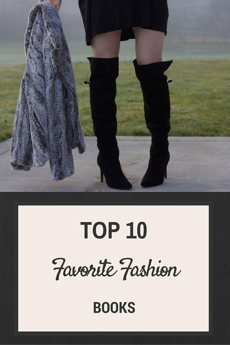 top 10 favorite fashion books, apparel textbooks, fashion reads, southern elle style