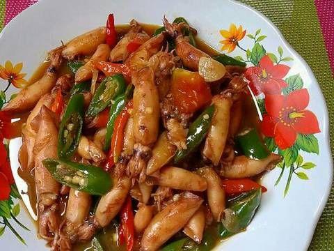 Resep Cumi Asin Cabe Ijo Oleh Susan Mellyani Resep Resep Masakan Resep Makanan Ide Makanan