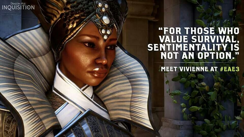 Vivienne - Dragon Age: Inquisition | cool gaming quotes