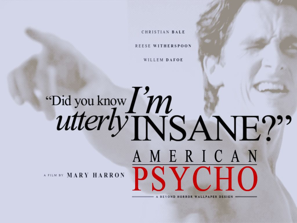 Pin by angel myers on patrick bateman pinterest horror movie american psycho by mary harron magicingreecefo Image collections