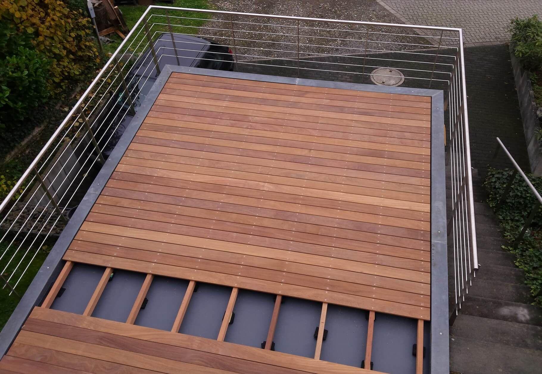 Prächtig Bauanleitung für Holzterrassen: Terrassendielen verlegen in 2019 #DO_35