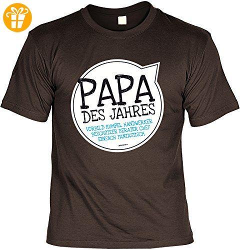 Vater Sprüche Tshirt   Cooles Für Papa : Papa Des Jahres Vorbild     Geschenk T