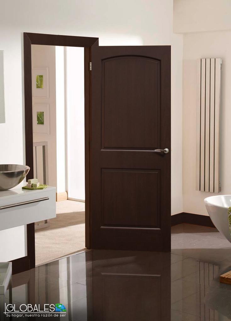 Puerta bariloche madera s lida un modelo premium para for Modelos de puertas de madera