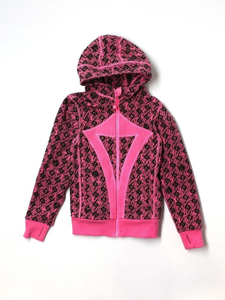 dd74134b826650 New Girl Disney Ivivva Hoodie Pink Shake It Up Full Zip Athletic Jacket  Size 4 #ivivva #athleticjacket #Everyday