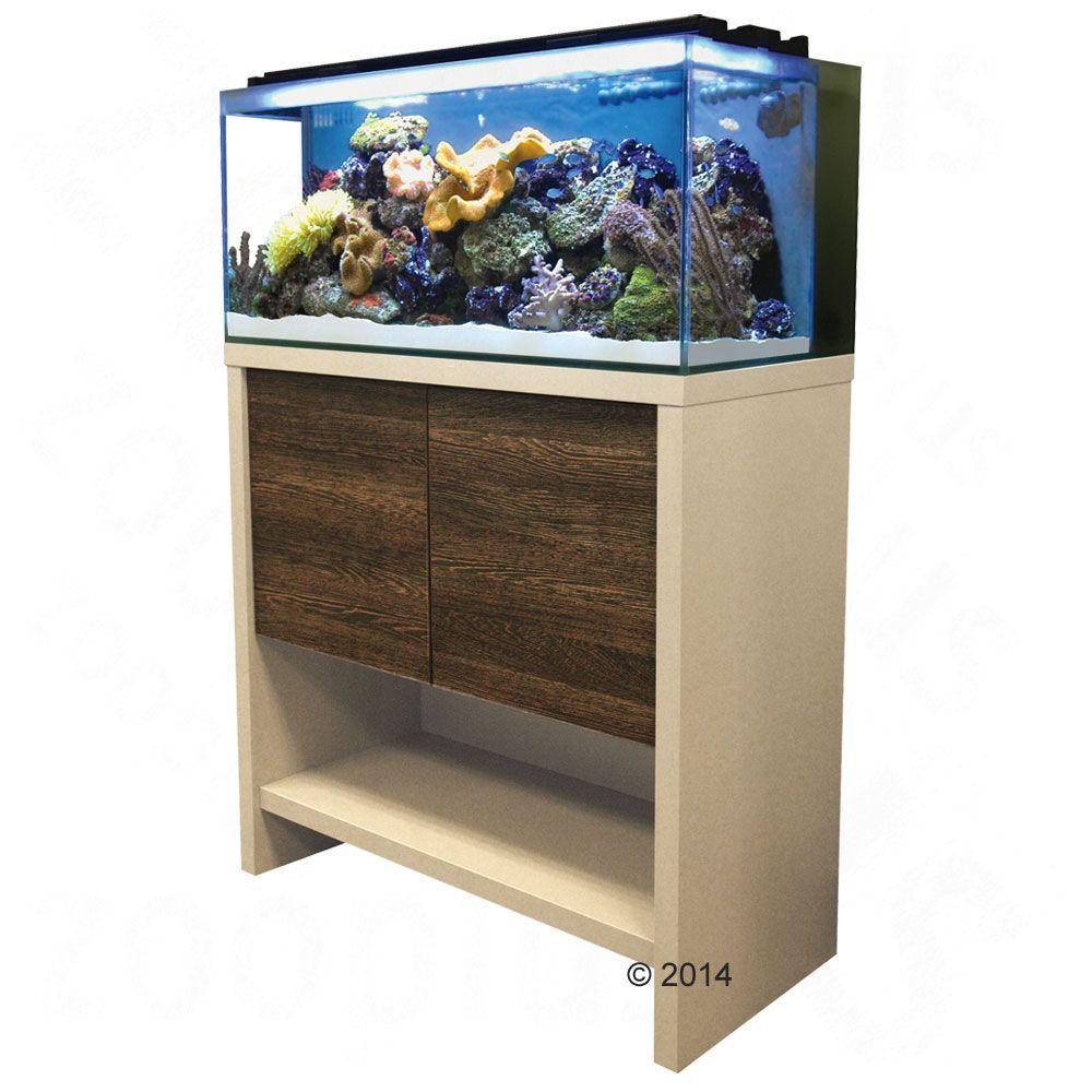 Animalerie Ensemble Aquarium Sous Meuble Fluval Reef M60 91 L  # Meubles Sur Roulettes Pour Aquarium