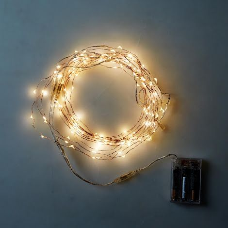 Copper Wire Lighting From Food52 Led Lights Lights Twinkly Lights