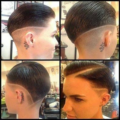 Ruby Rose New Haircut People Pinterest Ruby Rose Haircuts - Undercut hairstyle ruby rose